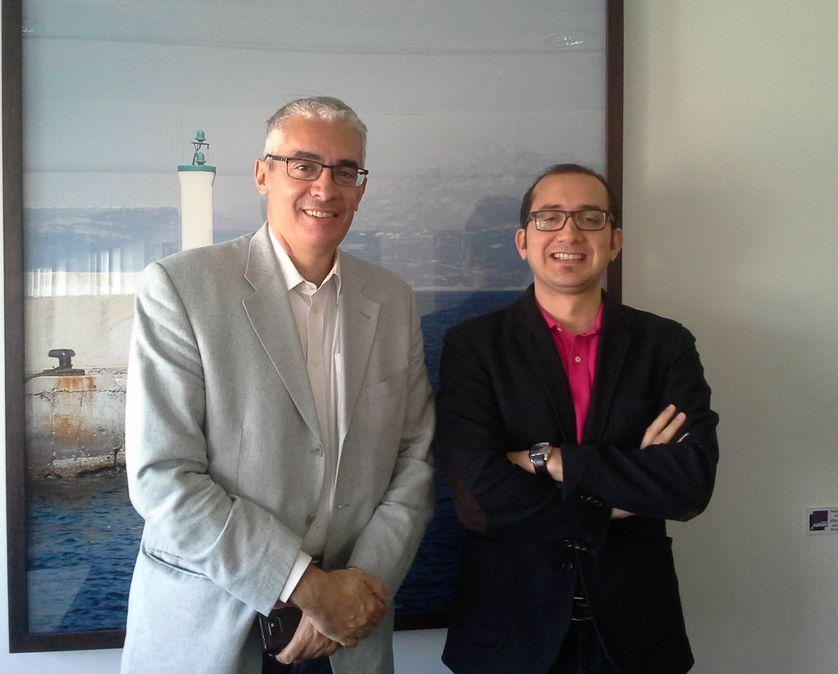 Akram Belkaid et Mohammed Hachemaoui