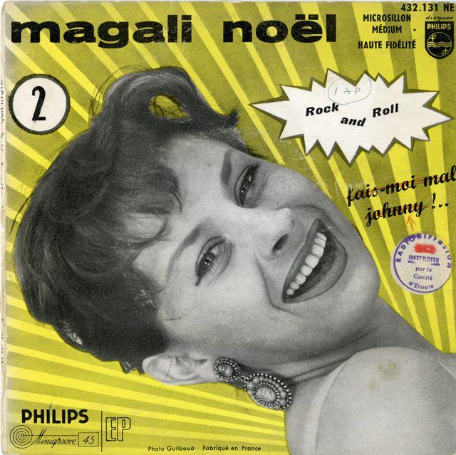 Magali Noel pochette disque