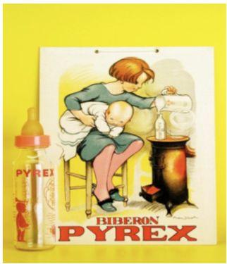 Biberon Pyrex