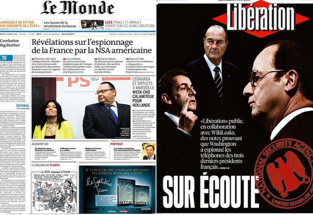 """Les grands journaux à la chasse aux """"leaks"""""""