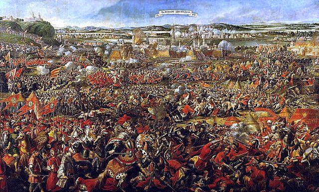 La bataille de Vienne assiégée par les Ottomans en 1683