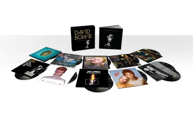 Coffret Five Years vinyles