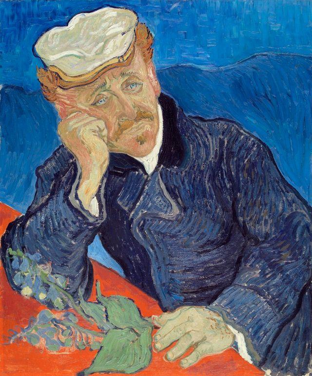 """""""Portrait du docteur Gachet"""" par Vincent van Gogh"""
