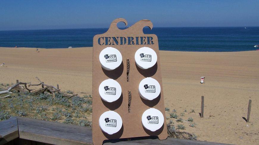 Landes des cendriers consign s dans le seignanx pour r duire le nombre de m gots sur la plage - Office de tourisme tarnos ...