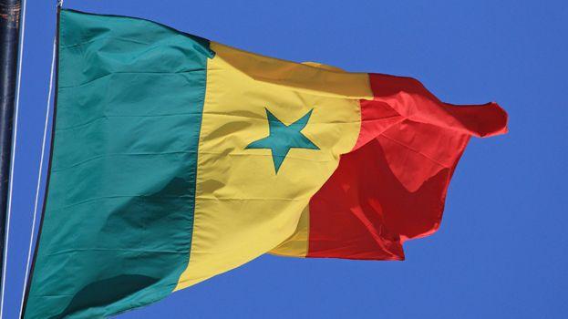 Drapeau du Sénégal (illustration)