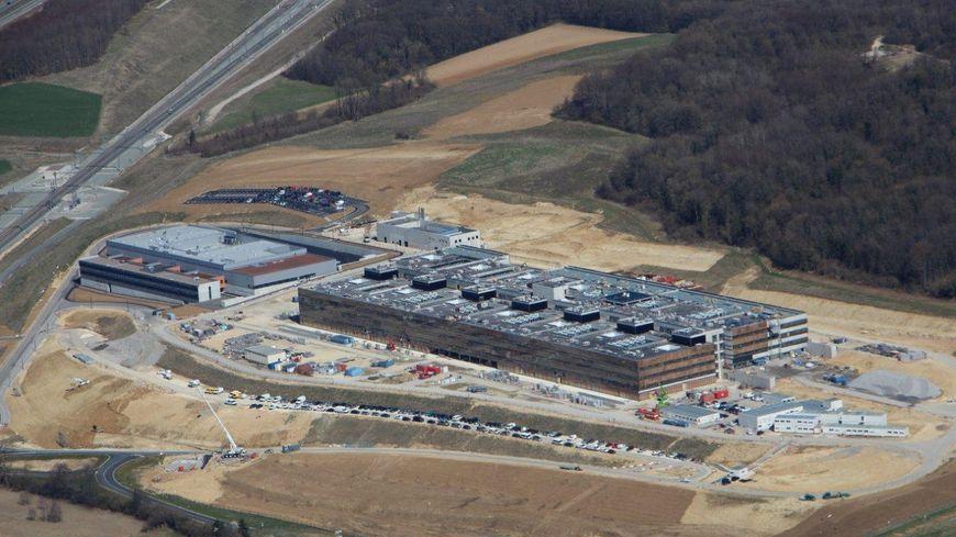 Le futur Hôpital Nord Franche-Comté de Trévenans