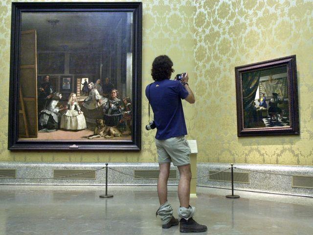 """""""Les Ménines"""" au musée du Prado, à Madrid"""