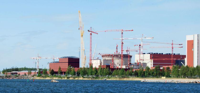 La centrale d'Olkiluoto, en Finlande