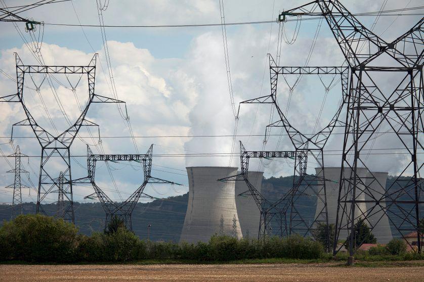 La centrale nucleaire du Bugey, dans l'Ain. Le 2 mai 2012.