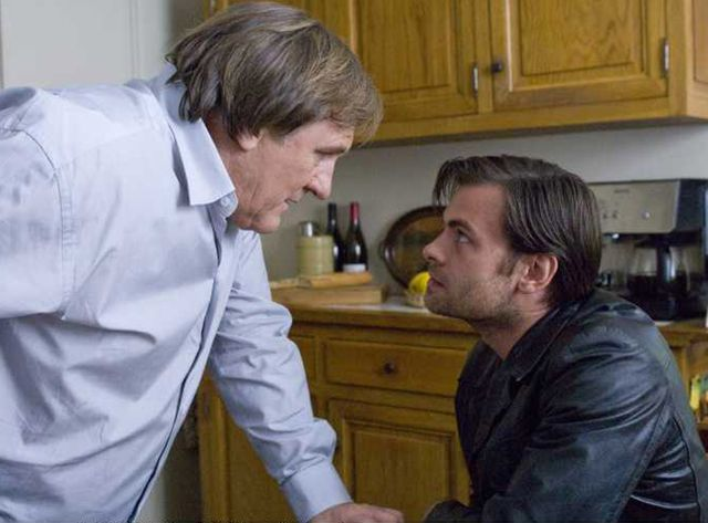 Gérard Depardieu et Clovis Cornillac dans Bellamy