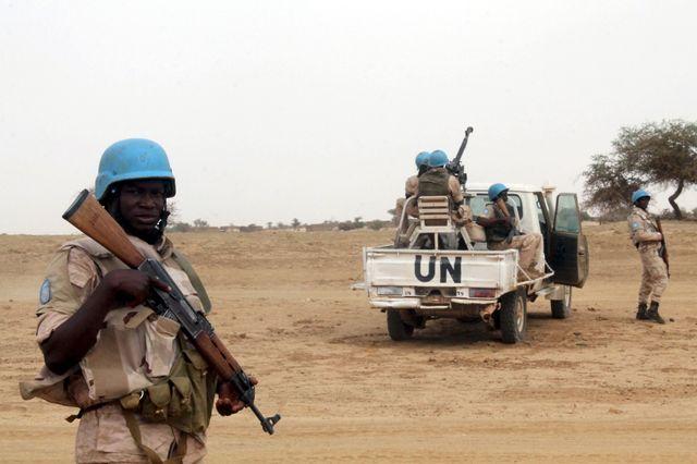Casques bleus au Mali