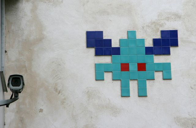 "Il y a plus de 1.000 ""space invaders"" à Paris"