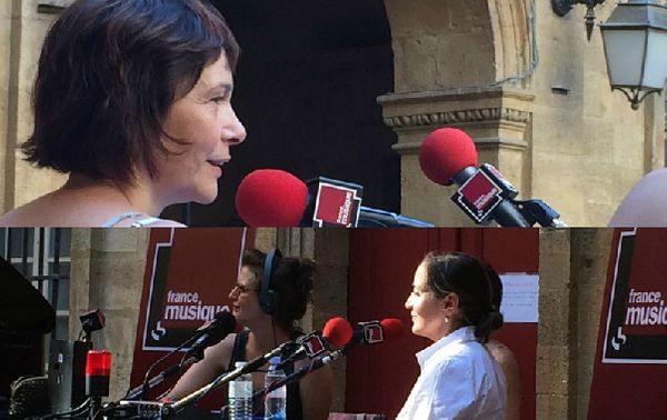 Sandrine Piau / Dominique Blanc © Emmanuelle Lacaze