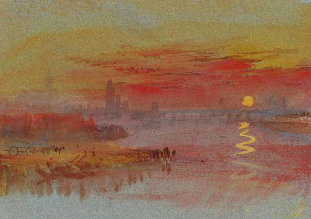 """Scarlet Sunset"" de William Turner"