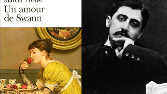 L'écrivain Marcel Proust © Hulton-Deutsch Collection/CORBIS