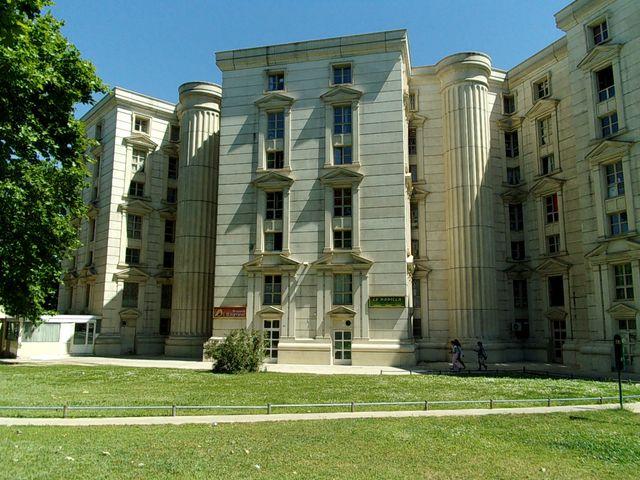 Quartier Antigone, à Montpellier - Architecte en chef : Ricardo Bofill