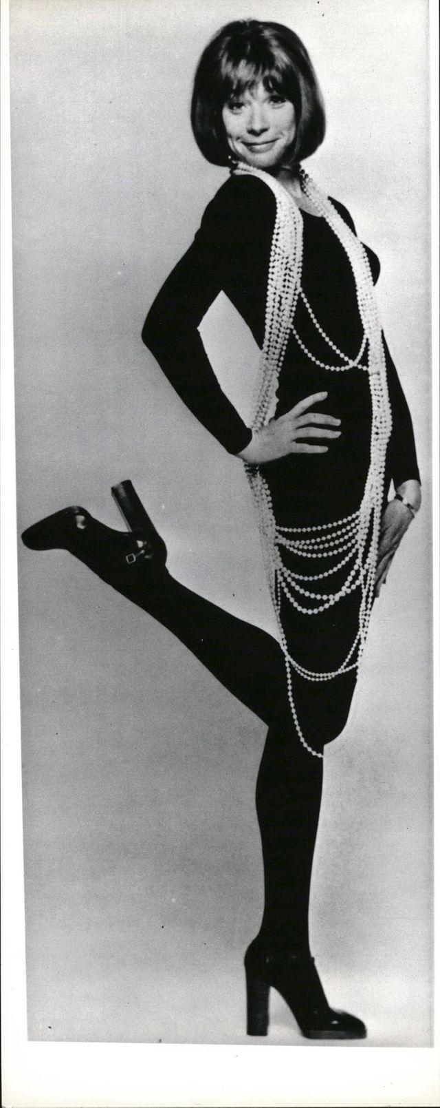 L'actrice américaine Shirley MacLaine (1960 - 1969)
