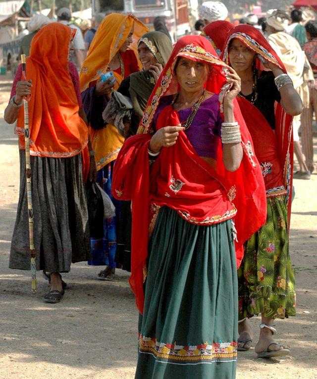 Femmes Désert Thar