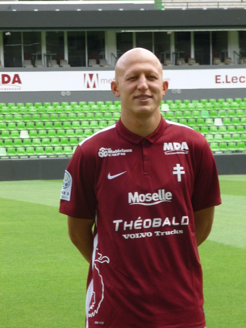 Sezer Ozmen, l'une des sept recrues estivales du FC Metz