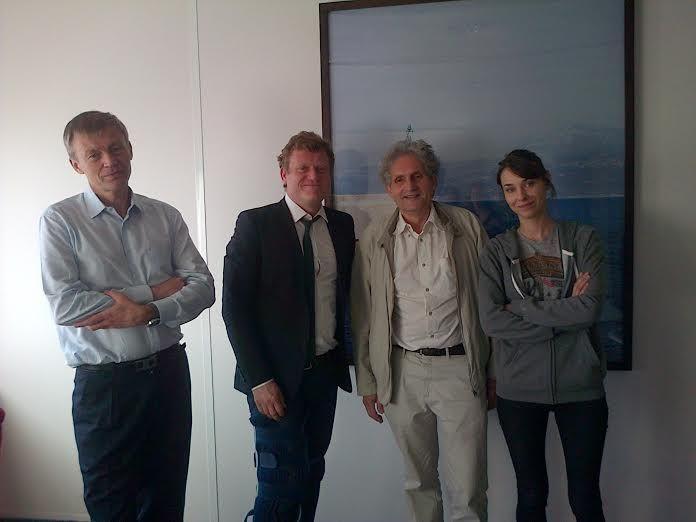 Philippe Aigrain, Benoit Thieulin, Titiou Lecoq et Nicolas Demassieux