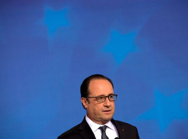Hollande au sommet de la zone euro
