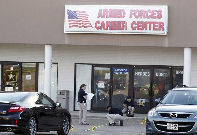 Le centre de recrutement de l'armée de Chattanooga victime de tirs meurtriers