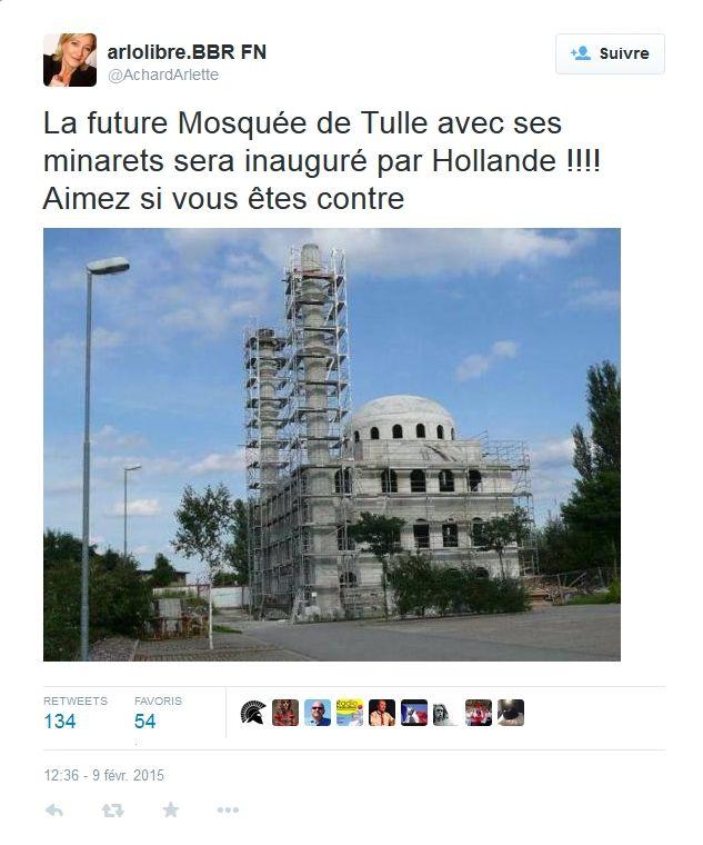 Une mosquée à Tulle ?