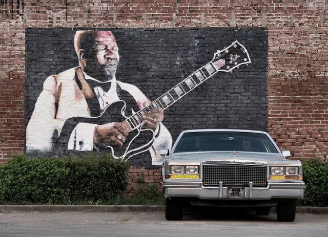 BB King, Indianola, Mississippi 2013