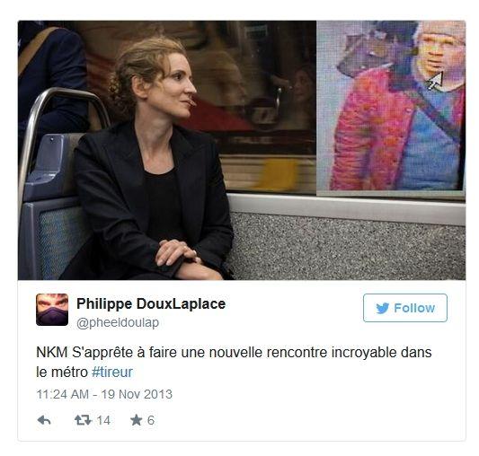 NKM dans le métro parisien