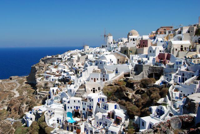 Santorini - Ios - Grèce