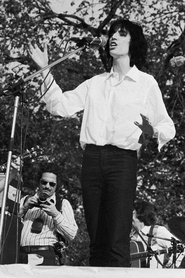 JoaPatti Smith, 1975 concert pour la fin de la guerre du Vietnam, Central Park NY
