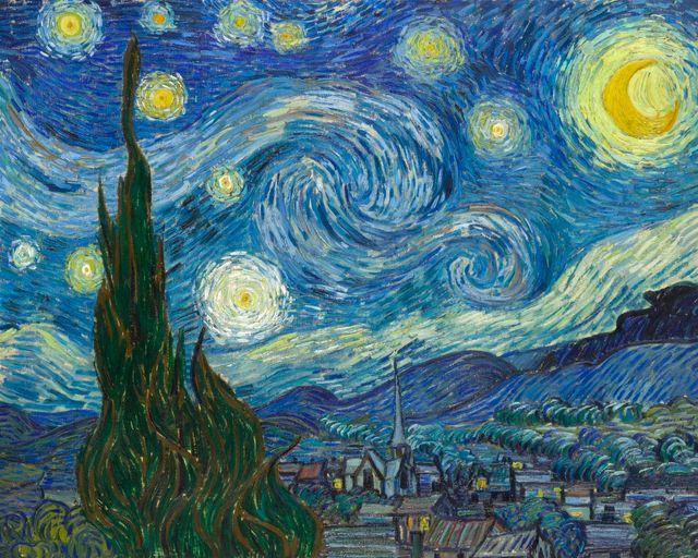 """""""Nuit étoilée"""" par Vincent van Gogh"""