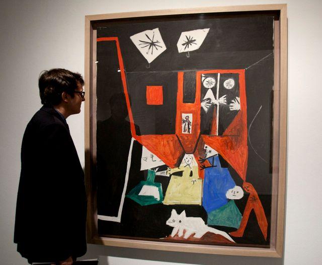 L'une des versions cubistes du tableau, par Picasso
