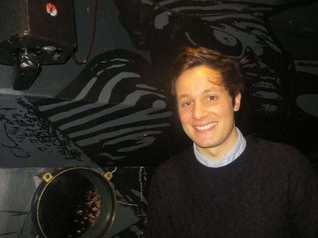 Vianney lors de son premier concert le 17/01/2015 à Lille.