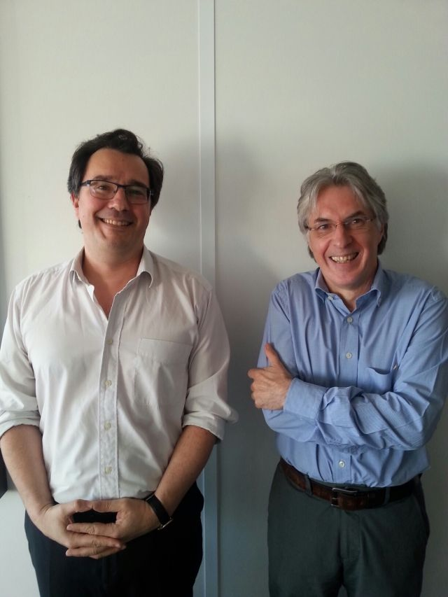 Olivier Rouquan et Gil Delannoi