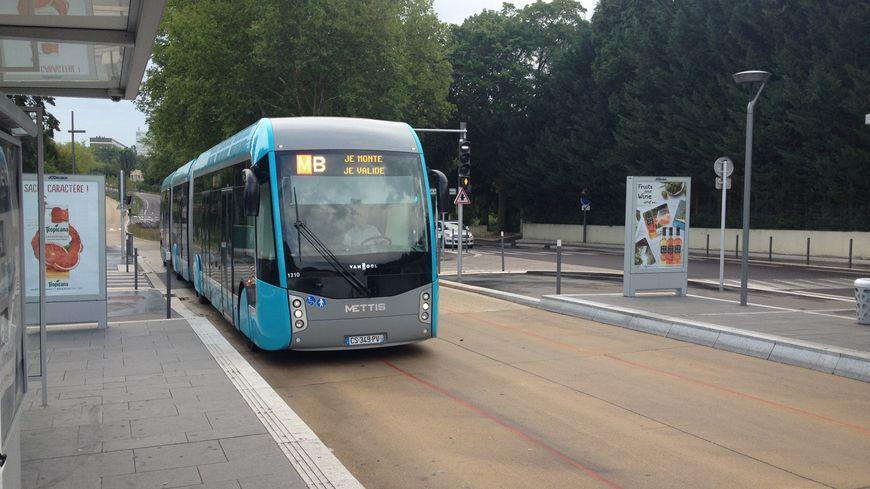 Le bus hybride à haut niveau de service de l'agglo de Metz