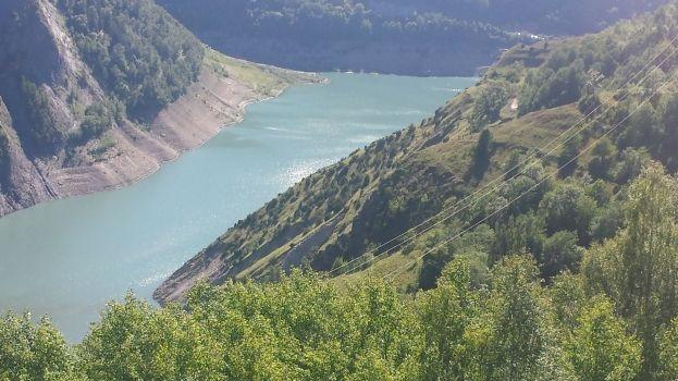 Lac du Chambon en Isère