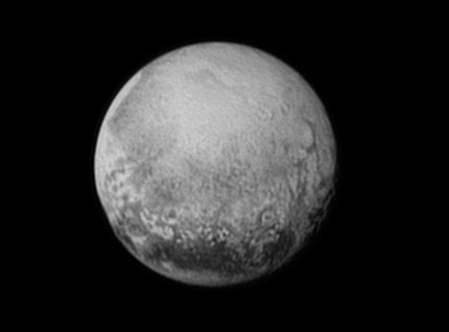 Pluton, vue par la sonde New Horizons
