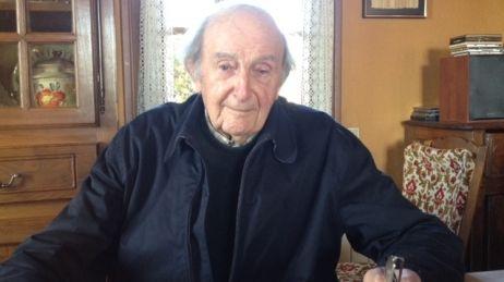 Roger Ranoux, pris en photo en 2012