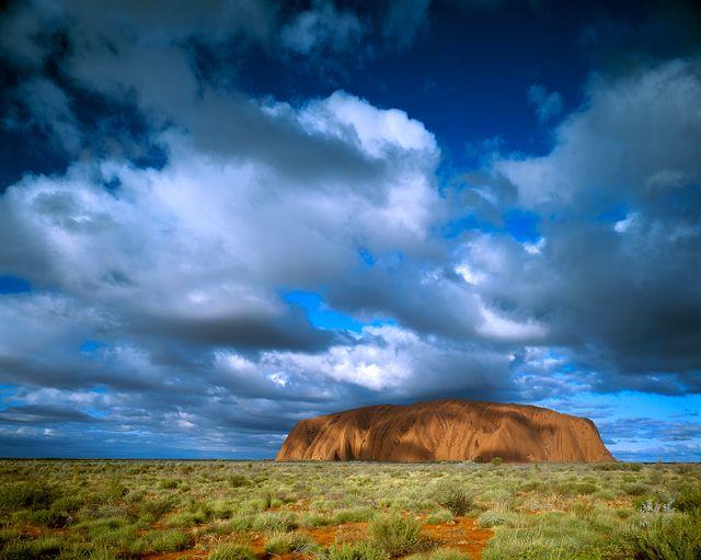 Rocher mythique Uluru