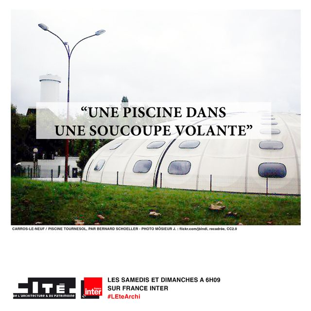 Piscine Tournesol - Architecte : Bernard Schoeller