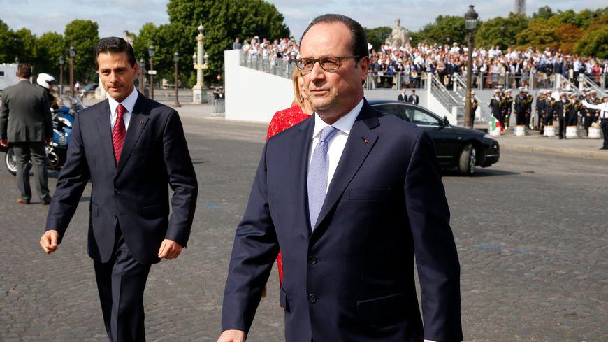 François Hollande, le 14 juillet 2015