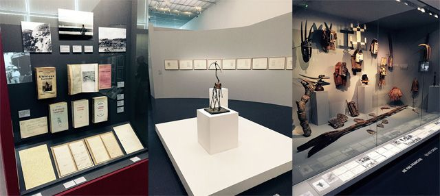 "Exposition ""Leiris and Co. Picasso, Masson, Miró, Giacometti, Lam, Bacon … » au Centre Pompidou Metz"