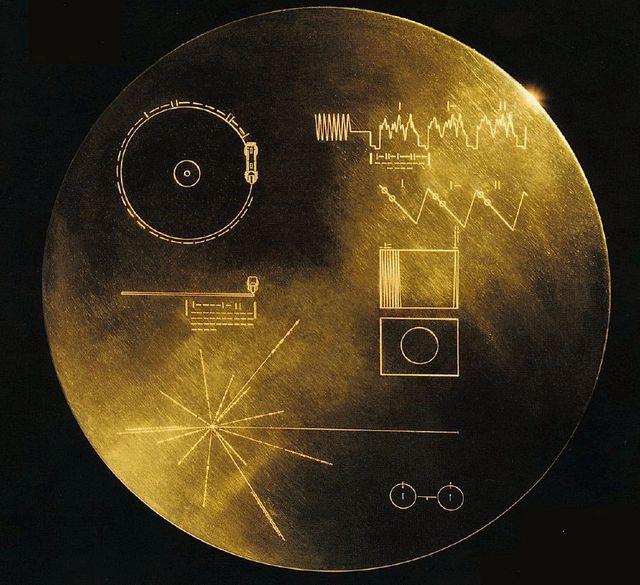 Golden Record envoyé dans l'espace par la Nasa