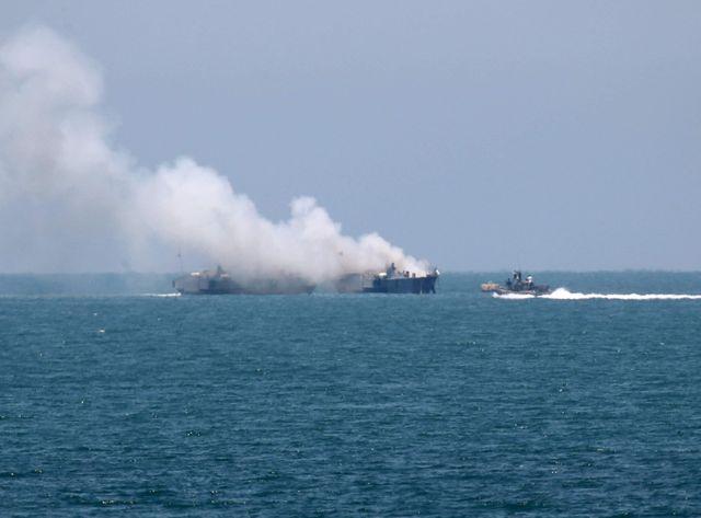 Une roquette tirée sur une vedette garde-côtes égyptienne