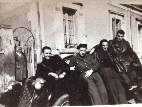 Roger Ranoux et ses camarades de résistance