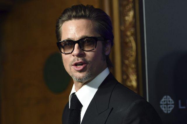 Brad Pitt, en Australie, 17/11/2014