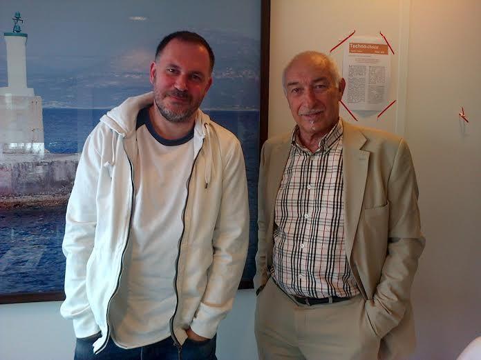 Philippe Piat et Nicolas Kriss Martov