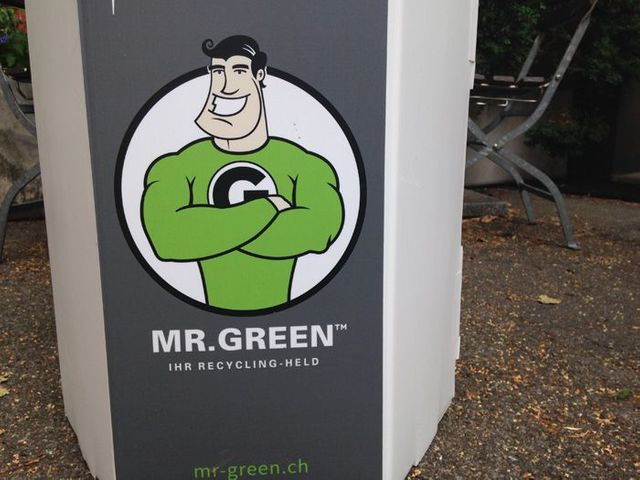 Mr. Green, le héros du recyclage