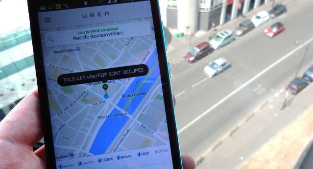 UberPop suspendu en France
